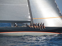 Voiles de rue Tropez 2012 Photo stock