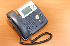 VoIP电话 库存图片