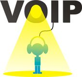 VOIP. This file is in JPEG and EPS formats stock illustration