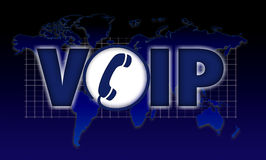 VOIP icon phone wi fi Royalty Free Stock Photography