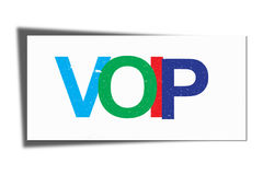 VOIP illustration Royalty Free Stock Images