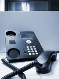 VoIP office phone Stock Image