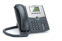 VOIP Phone Isolated on White Background Royalty Free Stock Photography