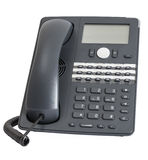 Voip phone isolated on white background Stock Photography