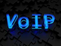 VoIP (Stimme über Internet Protocol) Stockfotografie