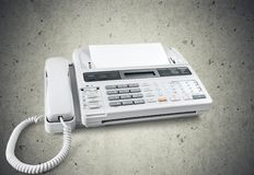 Voip. Telephone Answering Machine Business Internet Global Communications stock photo