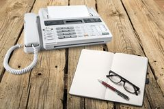 Voip. Telephone Answering Machine Business Internet Global Communications stock photos