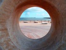 Voir la vue Boucliers du sud, Angleterre photos libres de droits