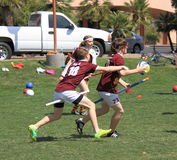 Quidditch : Attaque approximative Photographie stock