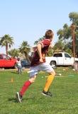 Quidditch : Magicien de vol ? Images libres de droits