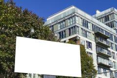 Voir les mes autres travaux dans le portfolio Panneau d'affichage vide horizontal avec l'espace de copie pour le message textuel  Image libre de droits