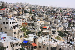 Voisinage arabe à Jérusalem Image libre de droits