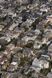 voisinage coloré san de Francisco images stock