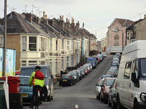 Voisinage dans Bristol Image stock