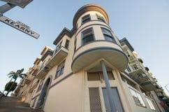 Voisinage de côte de télégraphe de San Francisco Image stock