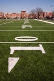 Voisinage de Chicago de centre urbain de terrain de jeu de sports Photos libres de droits