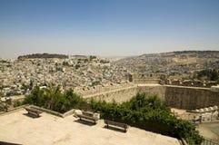 Voisinage de Jérusalem est Photo libre de droits