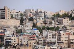 Voisinage de Jérusalem sur le mont des Oliviers Photographie stock