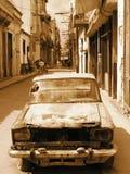 Voisinage de La Havane Photo libre de droits