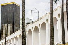 Voisinage de Lapa dans Rio de Janeiro photographie stock