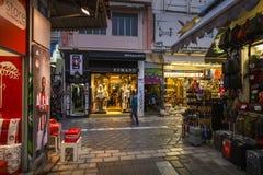 Voisinage de Monastiraki à Athènes Photographie stock