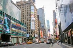 Voisinage de Times Square Photo libre de droits