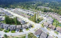 Voisinage suburbain photos libres de droits
