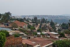 Voisinages résidentiels à Kigali, Rwanda images libres de droits
