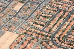 Voisinages suburbains à Las Vegas, Nevada photos libres de droits