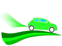 Voiture écologique Image libre de droits