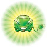 Voiture électrique Illustration Libre de Droits