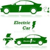 Voiture électrique illustration de vecteur