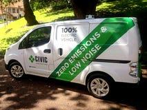 voiture électrique de 100 pour cent Photographie stock libre de droits