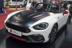 Voiture ABARTH 124spider Photos stock