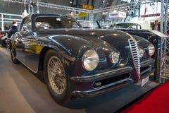 Voiture Alfa Romeo 6C 2500 solides solubles de vintage voyageant Superleggera Coupe, 1948 Image libre de droits