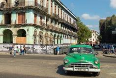 Voiture ancienne à La Havane, Cuba Images stock