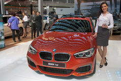 Voiture BMW 1er Images libres de droits