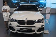 Voiture BMW X4 Images libres de droits