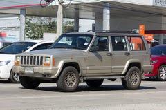 Voiture cherokee privée de la jeep 4X4 Photos libres de droits