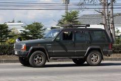 Voiture cherokee privée de la jeep 4X4 Photographie stock libre de droits