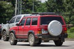 Voiture cherokee privée de la jeep 4X4 Images libres de droits