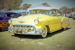 voiture 54 chevy Image libre de droits