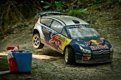 Voiture Citroen C4 WRC de rassemblement de Rc Image stock