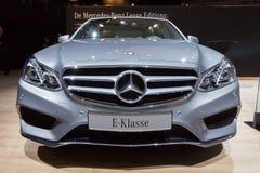 Voiture classe de la e de Mercedes Benz Photos libres de droits