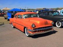 Voiture classique : Chevrolet 1954 210 Image stock