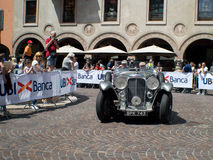 Voiture classique chez Mille Miglia 2016 Photographie stock