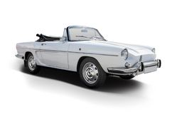 Voiture classique française Renault Caravelle photographie stock libre de droits