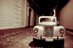 Voiture classique, Trinidad, Cuba Photographie stock libre de droits