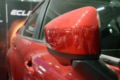 Voiture compacte croisée de sport de nouvelle éclipse de Mitsubishi photo libre de droits
