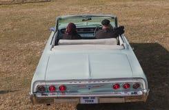 Voiture convertible classique de vintage de Chevrolet Images libres de droits
